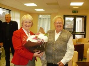 Mrs Bogle and Anne Mclean