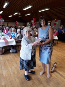 Nettie is our member of the year2017